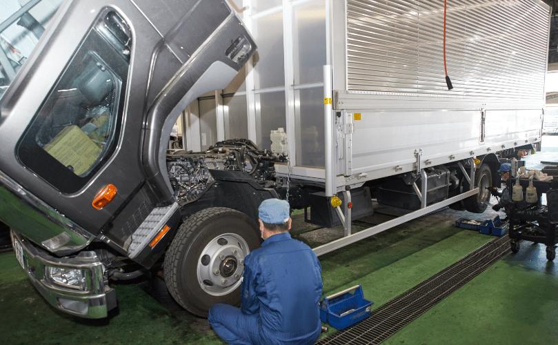 トラックサポート事業